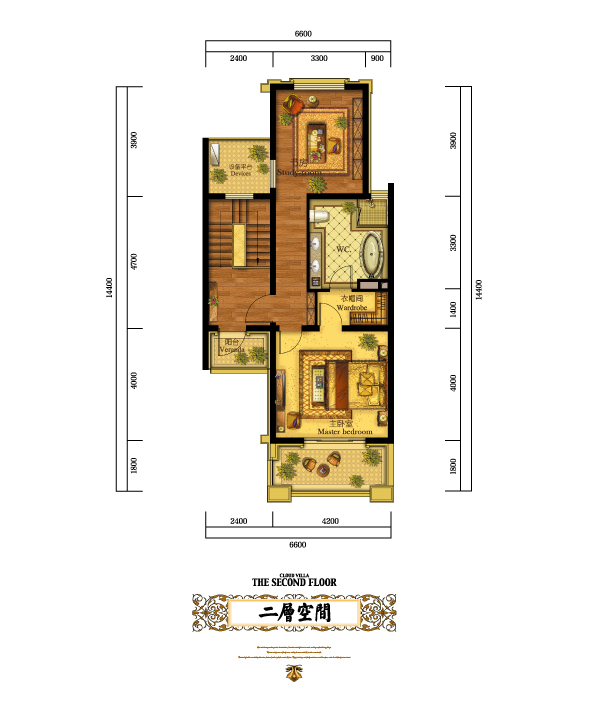 八米宽十米长房子设计图