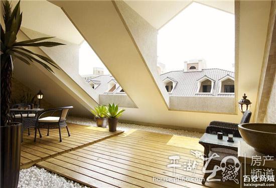 阁楼坡屋顶的结构,设计更具创意与风情!