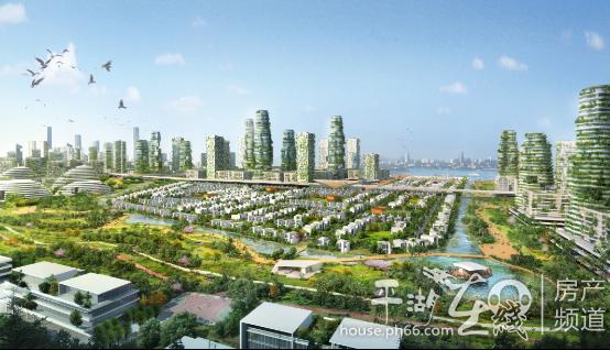 """更采用""""海绵城市""""理念,将大面积绿地湿地与园林规划结合,实现雨水资"""