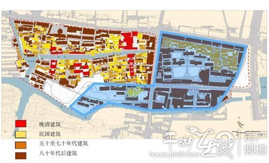 """按照规划这里将打造""""两街夹一河""""的水乡小镇,并引入现代商业,休闲娱乐图片"""